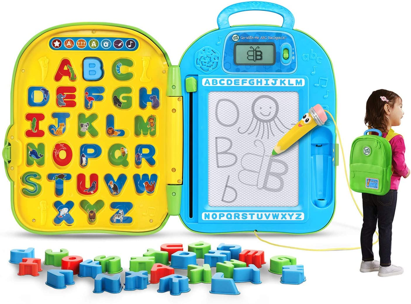 LeapFrog Mr. Pencil's ABC Backpack (Frustration Free Packaging)
