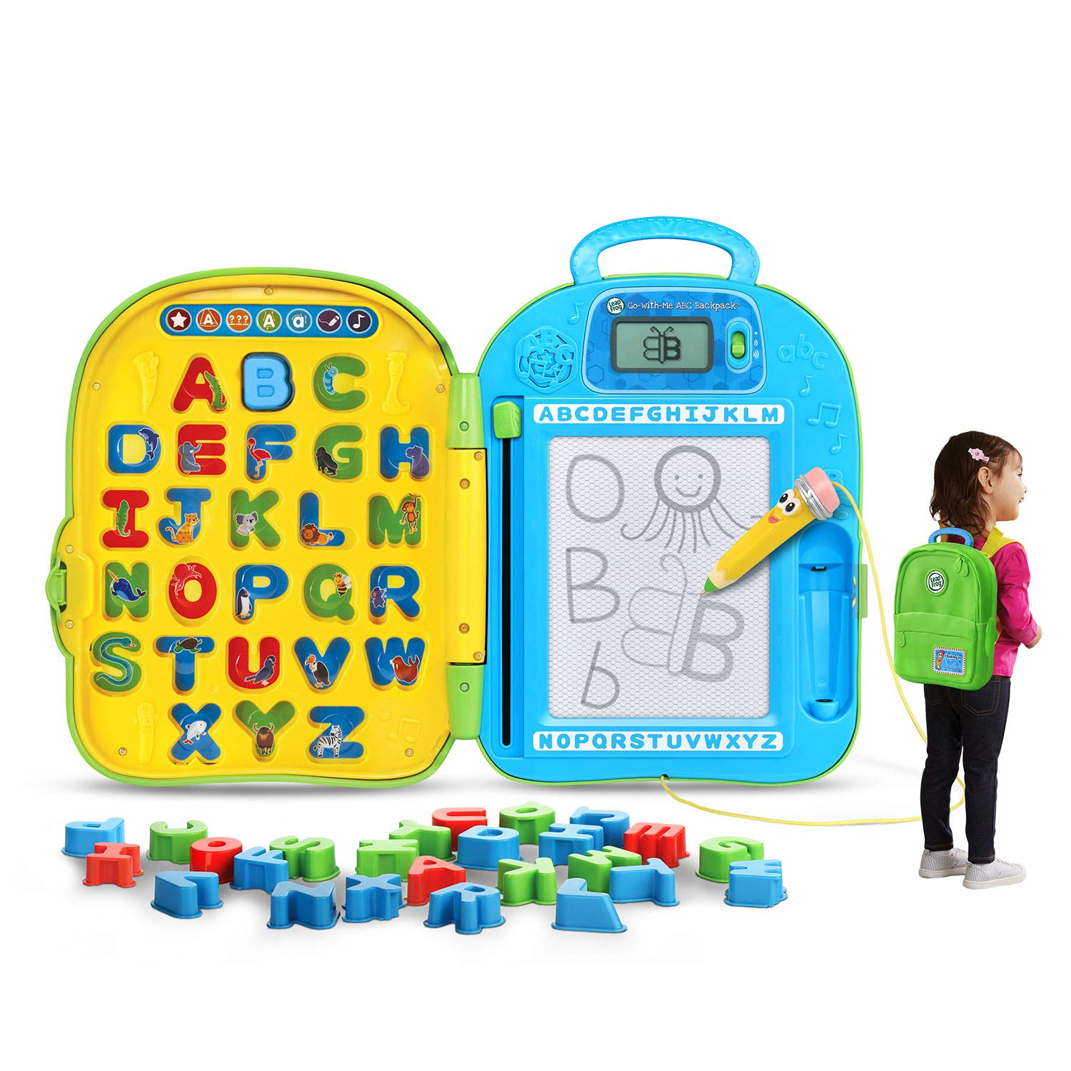 LeapFrog Go-with-Me ABC Backpack (Frustration Free Packaging) by LeapFrog