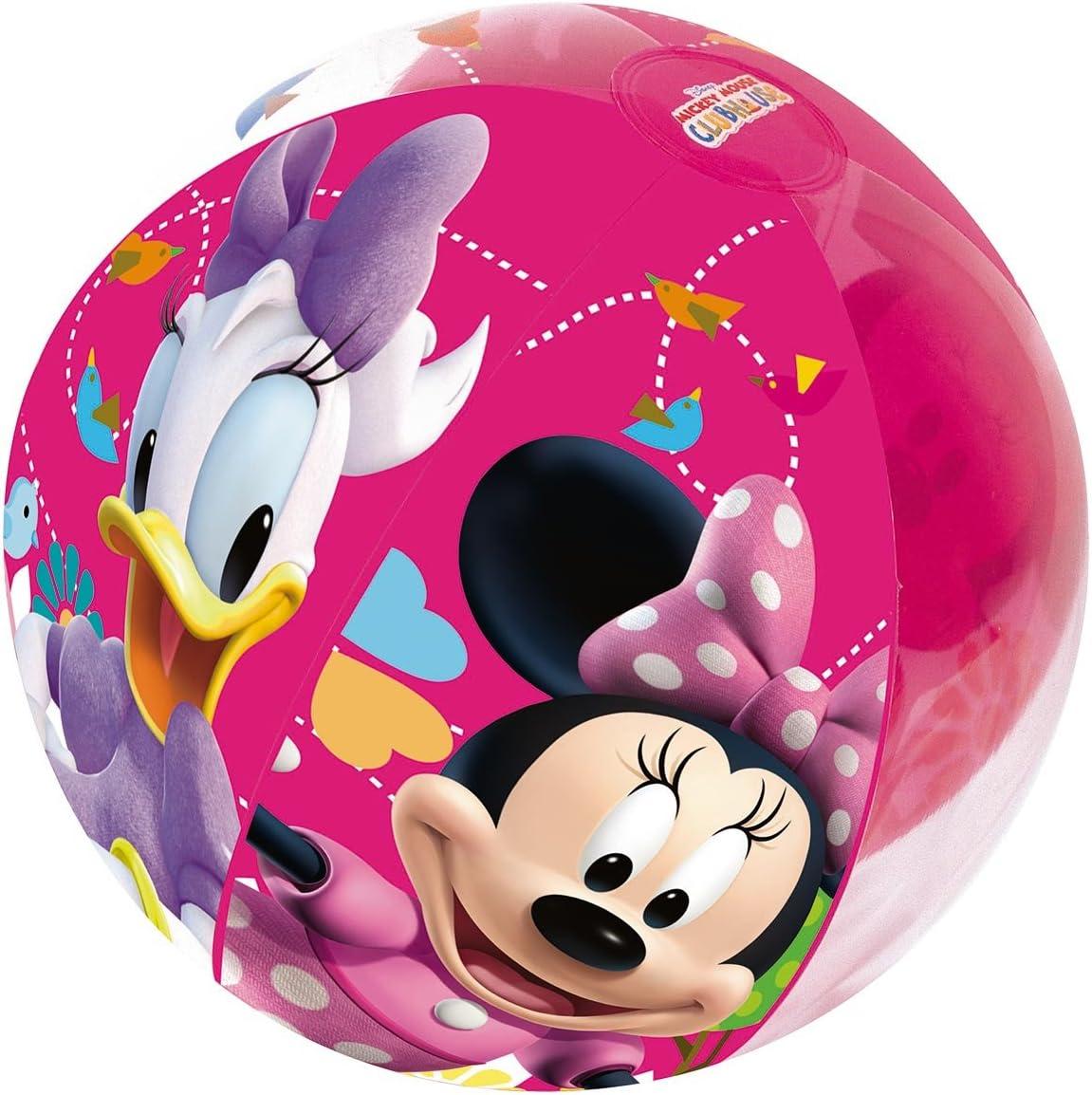 Pelota de Playa Hinchable Bestway Minnie Mouse: Amazon.es ...
