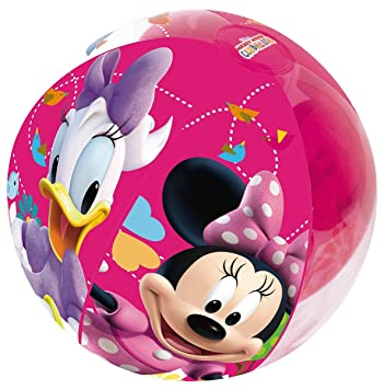 Pelota de Playa Hinchable Bestway Minnie Mouse: Amazon.es ...