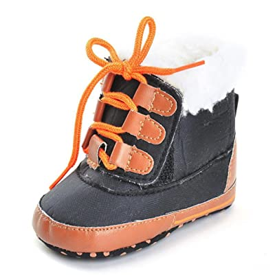 Amiley autumn winter Toddler Baby Boy Girl Boots Soft Sole Boots Prewalker Shoes