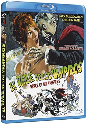 El Baile De Los Vampiros [Blu-ray]: Amazon.es: Jack MacGowran, Roman Polanski, Sharon Tate, Alfie Bass, Ferdy Mayne, Jessie Robins, Iain Quarrier, Terry Downes, Fiona Lewis, Roman Polanski, Jack MacGowran, Roman Polanski: Cine