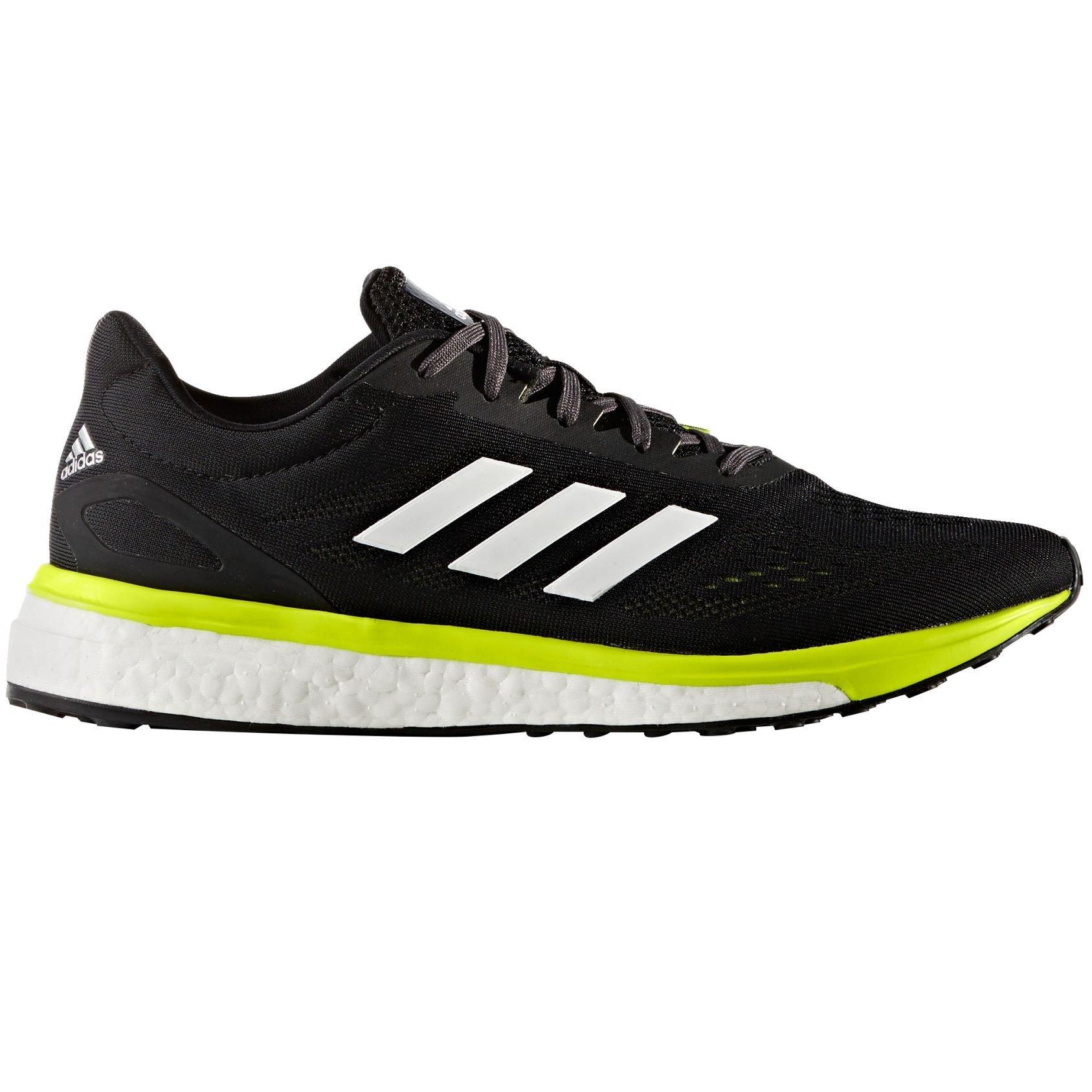 8aecc5ae2cb5 ... get adidas response boost lt mens running shoe black yellow white 12 bm  us 4324c ea1bc