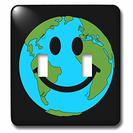 3drose Lsp766672 Happy World Planet Earth Smiley Face Globe Earth