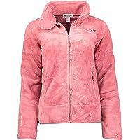 Geographical Norway Upaline Lady - Warme Zachte Comfortabele Fleece voor dames, warme zachte winterjas voor dames, dikke…