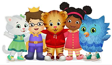 Amazon.com: BirthdayExpress Daniel Tiger Room Decor - Life Size ...