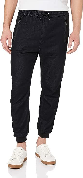 A|X Armani Exchange Men's Trousers Cotton Stretch, Indigo Denim, 28