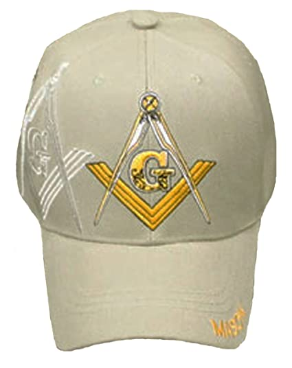 Image Unavailable. Image not available for. Color  Mason Cap Khaki Freemason  Tan Baseball Hat ... 1f594a033e80