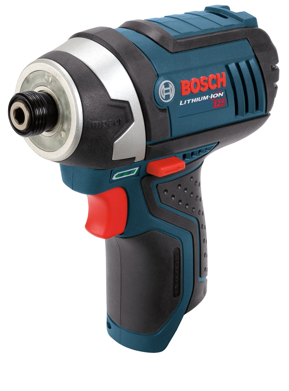 Bosch Bare-Tool PS41BN 12-Volt Max Lithium-Ion 1/4-Inch Hex Impact Driverwith Exact-Fit L-BOXX Tool Insert Tray