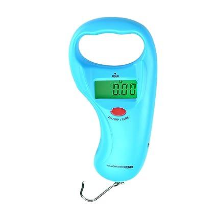 Amazon Polychrome Gear Handheld Digital Fish Scale 99 Lb 45 Kg