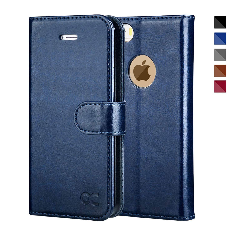 c8d37319ae iPhoneSE ケース / iPhone5s ケース / iPhone5 ケース 手帳型ケース OCASE 財布型 スタンド機能