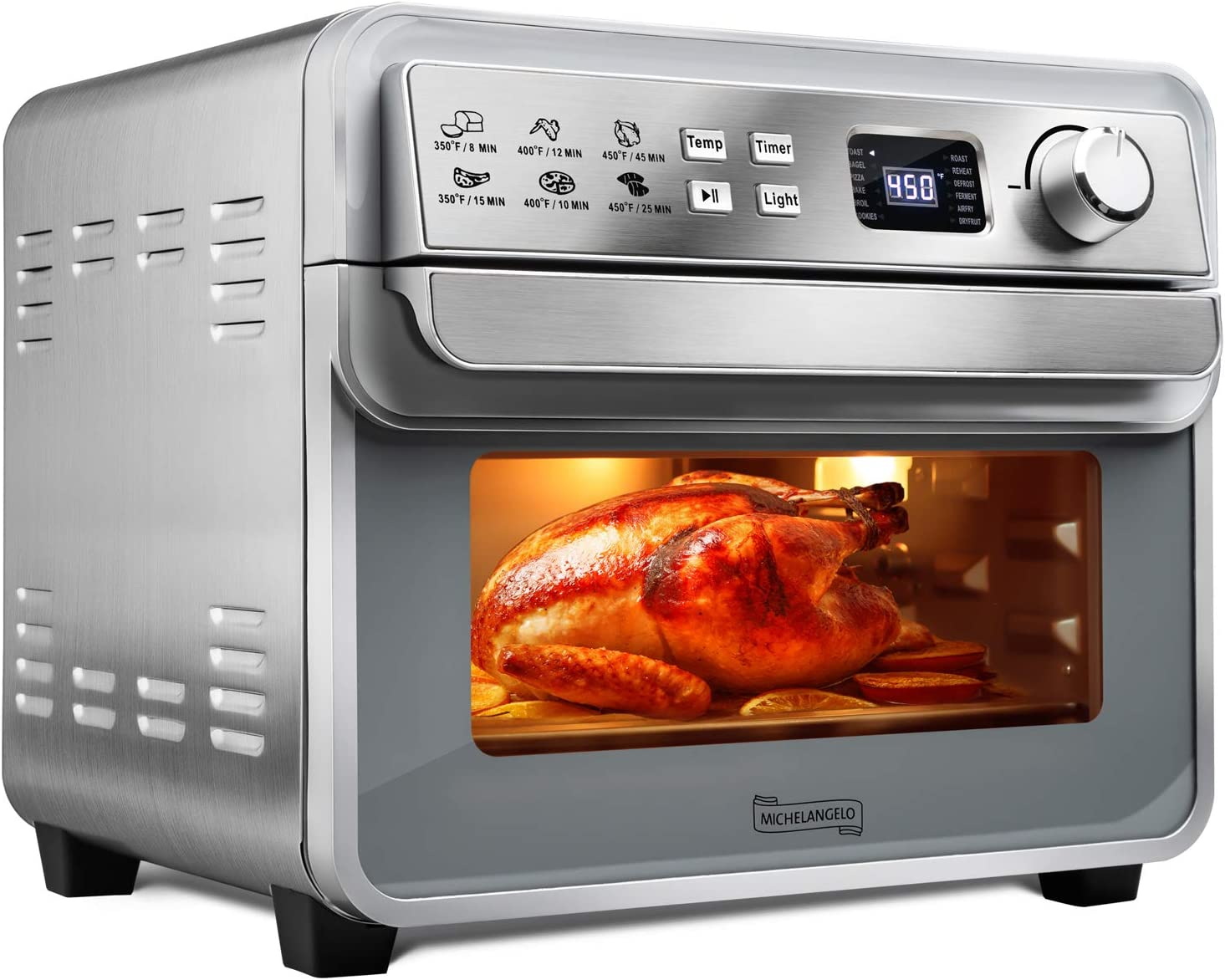 Michelangelo 1700W 23QT 12-in-1 Air Fryer Toaster Oven $99.99 Coupon
