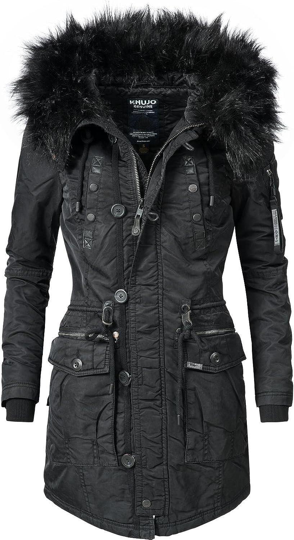 """stile parka /""""YM-Halle/"""" XXL Cappotto invernale da donna XS 7 colori prodotto vegano khujo"""