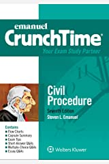 Emanuel CrunchTime for Civil Procedure (Emanuel CrunchTime Series) Kindle Edition
