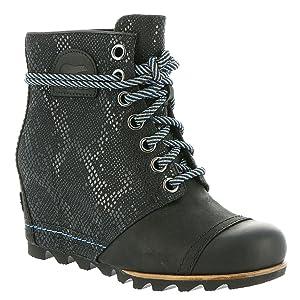 Sorel 1964 Premium Wedge Boot - Women's Black 10