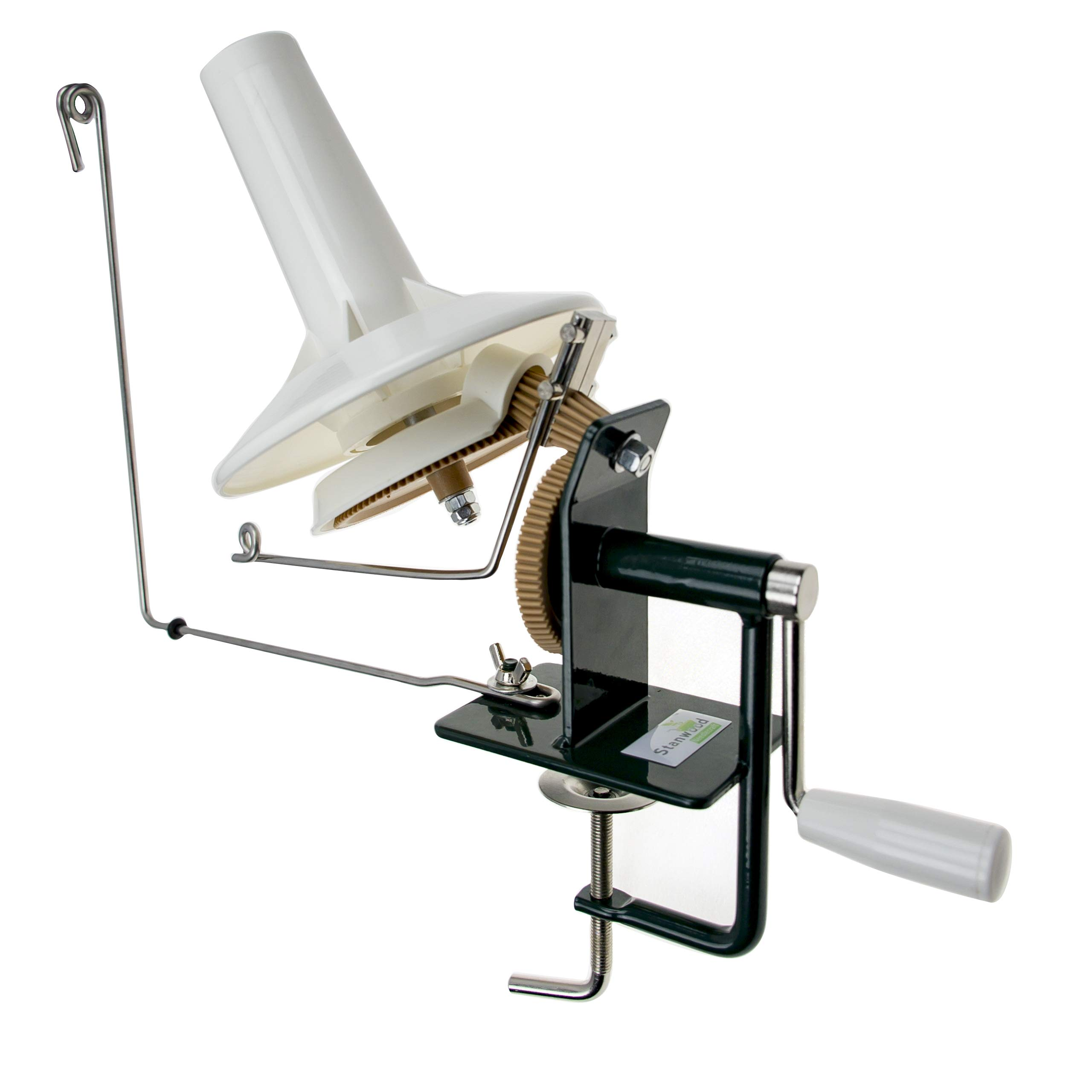 Stanwood Needlecraft Large Metal Yarn/Fiber/Wool/String Ball Winder, 10-Ounce by Stanwood Needlecraft (Image #2)