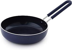 Blue Diamond CC002447-001 Mini Ceramic Egg Pan, Blue