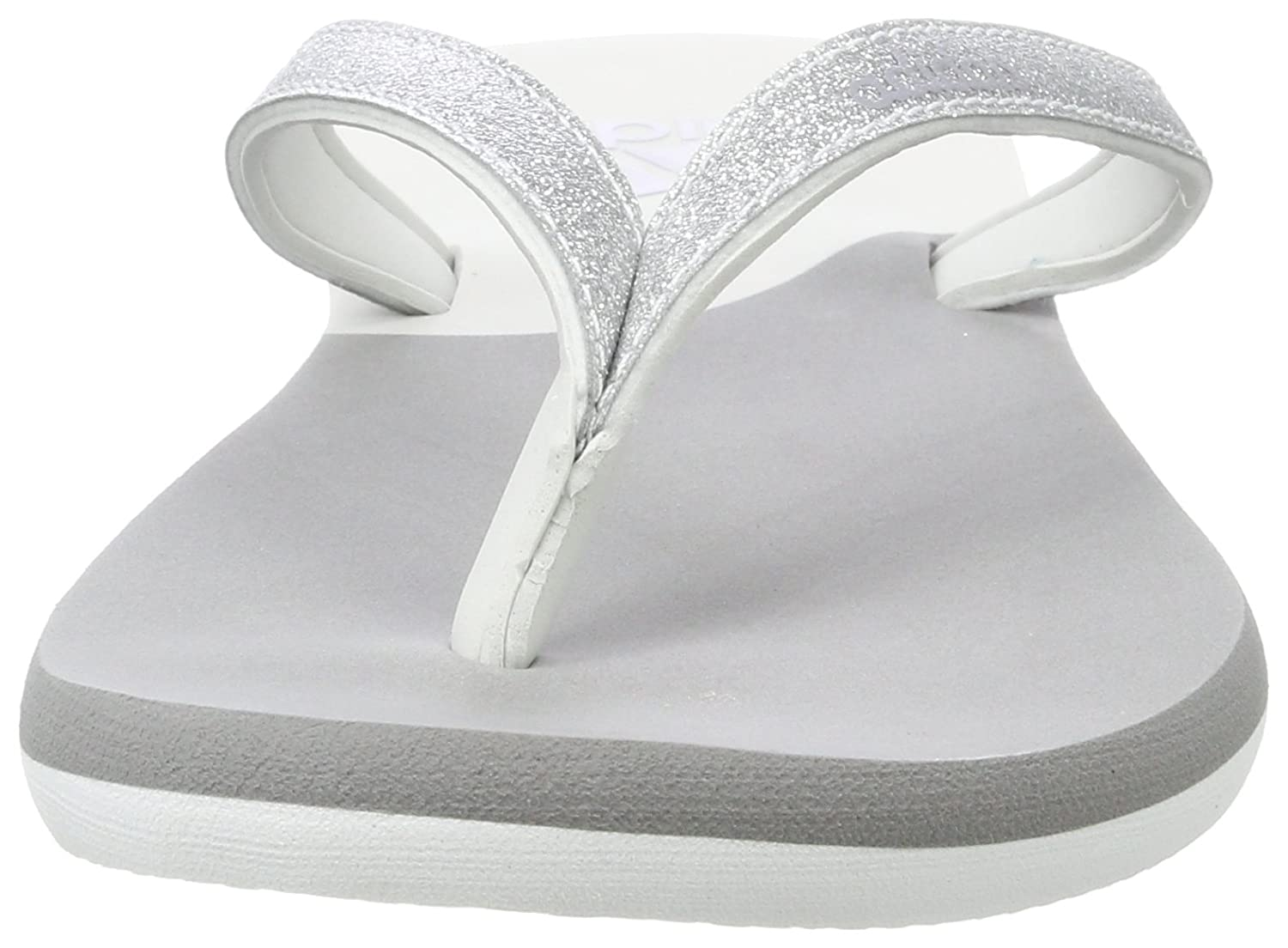 1441aeea9513 Adidas Women s Eezay Glitter W Grethr Msilve Greone House Slippers - 4  UK India (36.67 EU) (BB0501)  Buy Online at Low Prices in India - Amazon.in