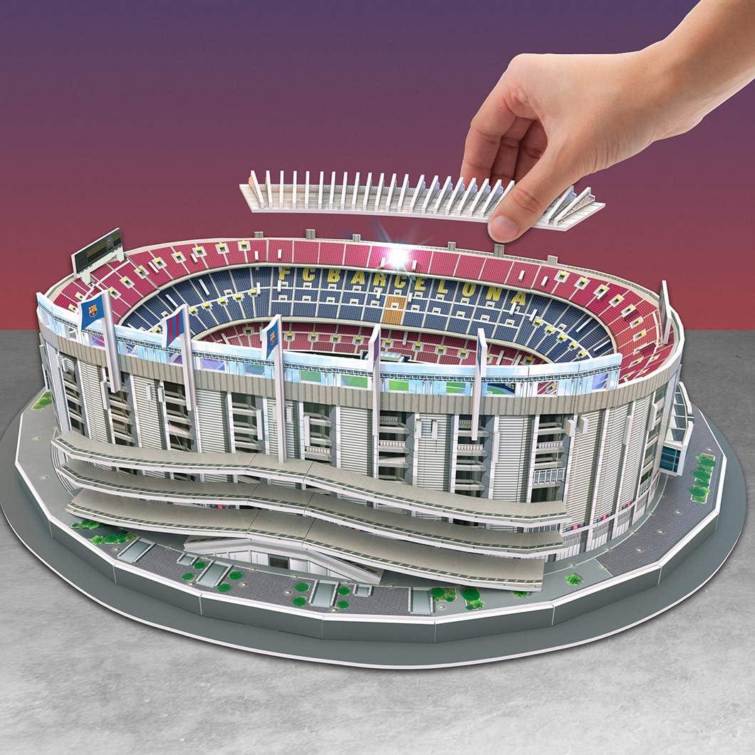 NANOSTAD Estadio Camp NOU LED Edition (FC Barcelona) Puzzle 3D ...