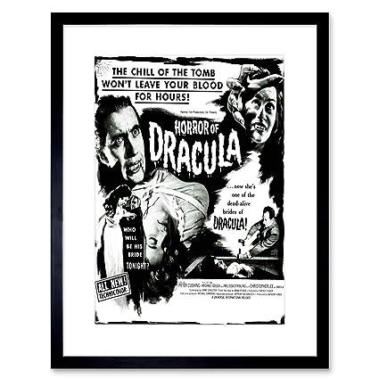 Amazon.com: 9x7 \'\' MOVIE FILM HORROR DRACULA CUSHING VAMPIRE USA ...