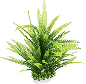 HITOP Pets Plastic Plants for Fish Tank Decorations Unique Artificial Aquarium Decor