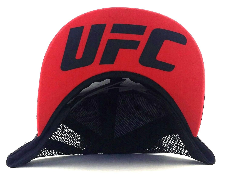 Reebok Gorra de Rejilla UFC RBK MMA Authentic Fighter, Color Negro ...