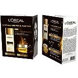 L'Oréal Paris Coffret Crema Olio e Struccante Coffret Crema Olio Straordinario  e Latte Olio Straordinario Detergente
