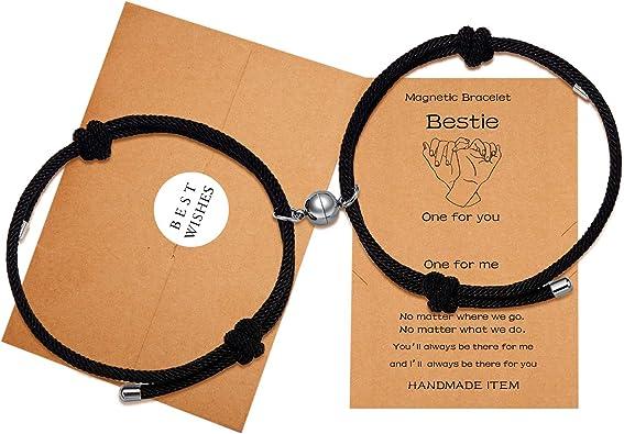Distance bracelets Matching couple bracelets Couples gifts His and Her bracelet Love bracelets Valentines gifts Friendship Relationship