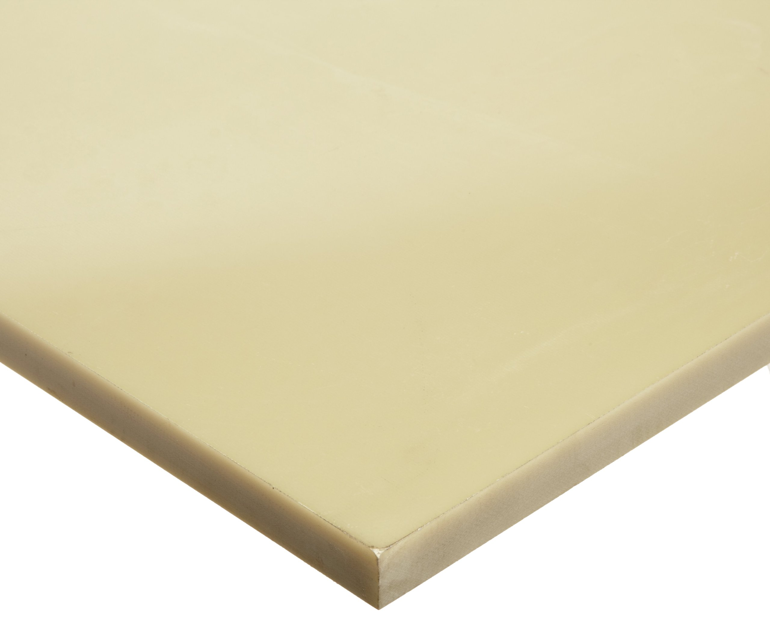 Phenolic Sheet, Opaque Off-White, 0.25'' Thickness, 6'' Width, 12'' Length (Pack of 1) by Small Parts