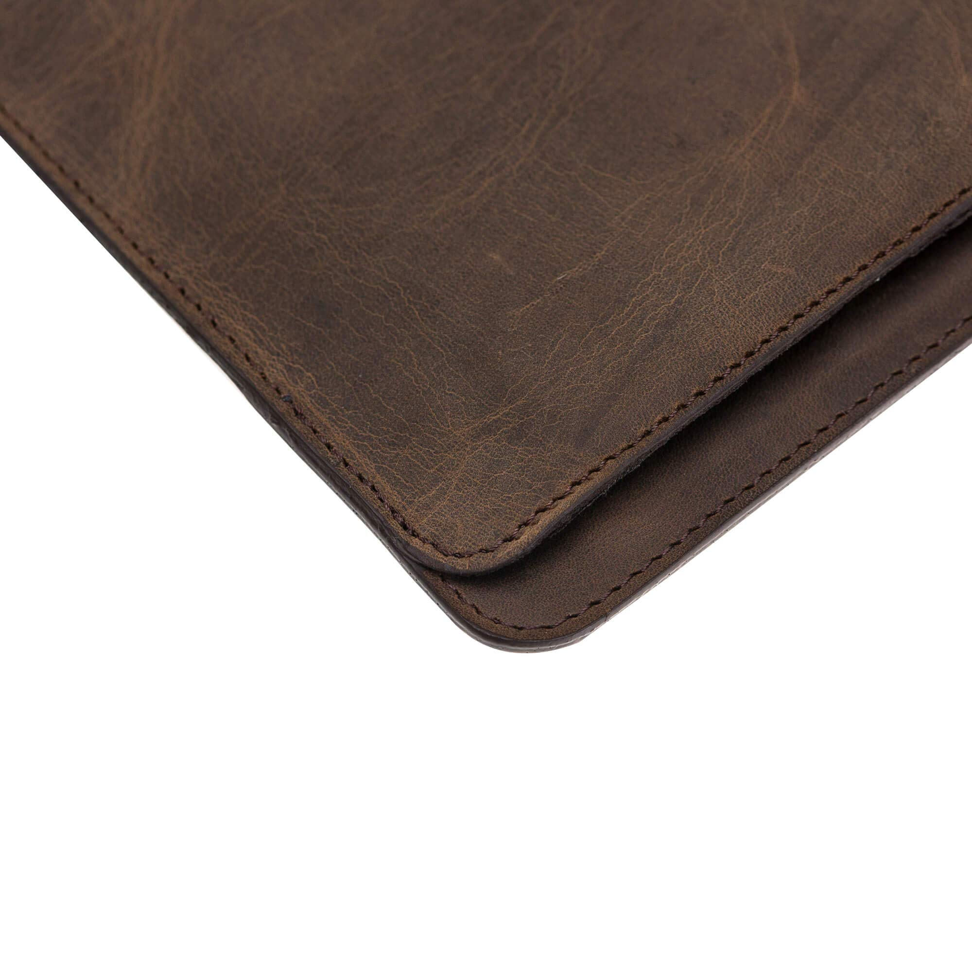 Burkley Case Compatible with MacBook Pro 15'' Burkley Leather Sleeve, Handcrafted and Full Grain Leather for MacBook Pro 15'' (Distressed Antique Coffee) by Burkley Case (Image #5)