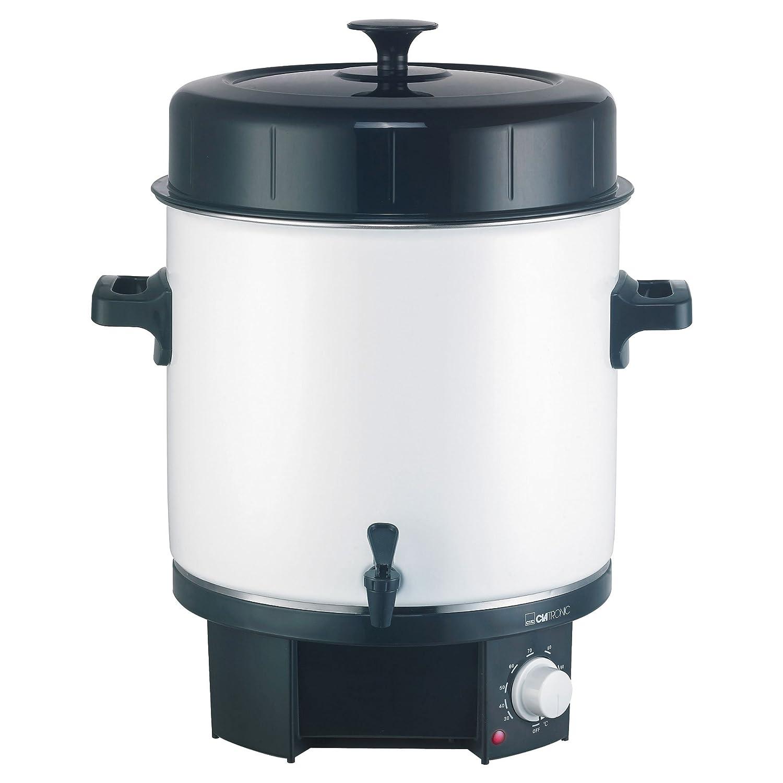 Clatronic EKA 3338 Olla eléctrica, 50 W, 25 litros, Negro, Color Blanco: Clatronic: Amazon.es: Hogar