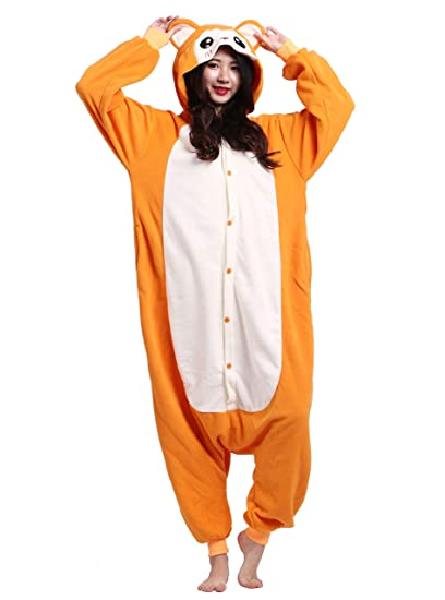 Pijamas Kigurumi Animal Entero Invierno Cosplay Traje ...
