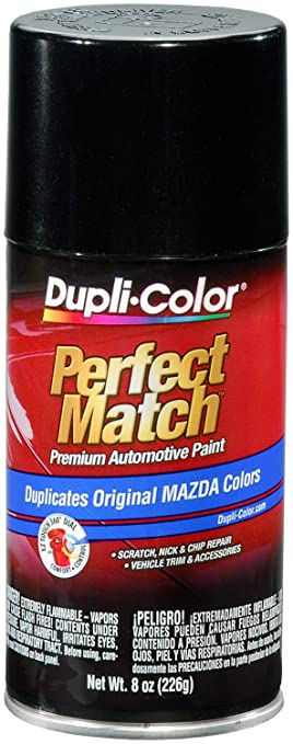 Amazon.com: Dupli-Color BMZ1159 Black Mica Mazda Perfect Match ...