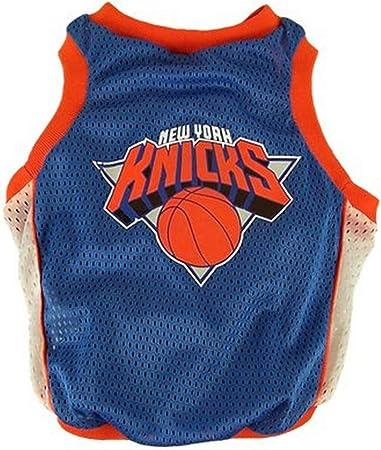 Amazon Com Nba New York Knicks Basketball Dog Jersey Large Pet Supplies