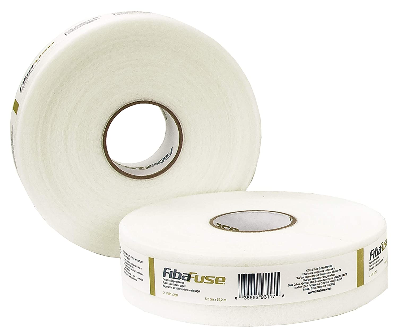 White Drywall Joint Tape Saint-Gobain ADFORS FDW8652-U FibaFuse 2-1//16 in x 250 ft