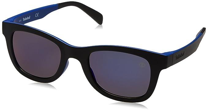 Timberland Sonnenbrille TB9080 5091D, Gafas de Sol para Hombre, Negro (Schwarz),