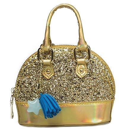 Amazon.com: Kearia Kids Glitter Purse Handbags