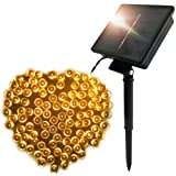Amazon Price History for:FARSIC Christmas Solar Led Fairy Lights - 72 ft Cable, 200 Lights, Waterproof - Ambiance lights for Outdoor, Patio, Fairy Garden, Home, Wedding, Christmas Party, Xmas Tree(Warm White)