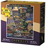 Dowdle Folk Art Puzzles - Lombard Street Puzzle, 500 Pieces