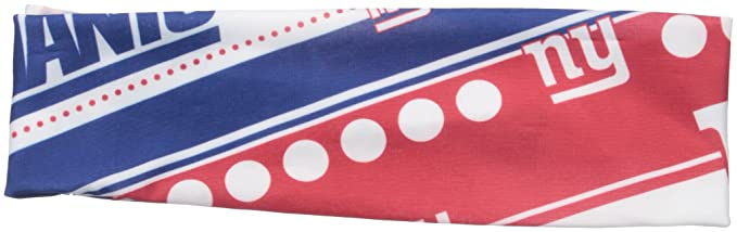 a7b1ead20dc Amazon.com   NFL New York Giants Stretch Headband   Sports Fan Headbands    Clothing