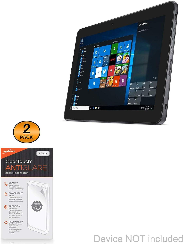 Dell Latitude 11 5175 (10.8 in) Screen Protector, BoxWave [ClearTouch Anti-Glare (2-Pack)] Anti-Fingerprint Matte Film Skin for Dell Latitude 11 5175 (10.8 in)