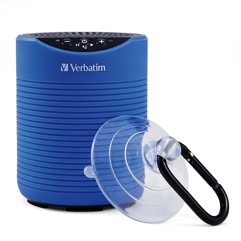 Verbatim Mini Wireless Waterproof Bluetooth Speaker – Blue
