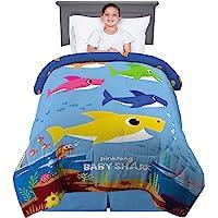 Franco Kids Bedding Super Soft Microfiber Reversible Comforter, Twin/Full Size 72″ x 86