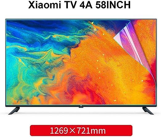 N / A Fit-Escudo Xiaomi TV 58 Pulgadas - Anti Azul/película Resistente a los arañazos, filtra Opaca, Bloquear nocivas BLU-Ray y Proteger los Ojos: Amazon.es: Hogar