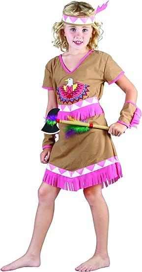 Disfraz india niña: Amazon.es: Juguetes y juegos
