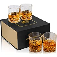 KANARS Noblesse Crystal Whiskey Glasses Set