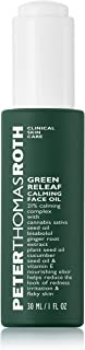 product image for Peter Thomas Roth Green Releaf Calming Face Oil, Facial Elixir with Hemp-Derived Cannabis Sativa Seed Oil, Helps Relieve the Look of Inflammation