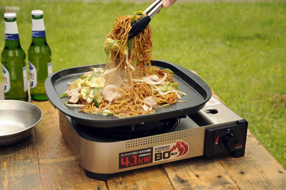カセットコンロ強火力で料理に役立つ