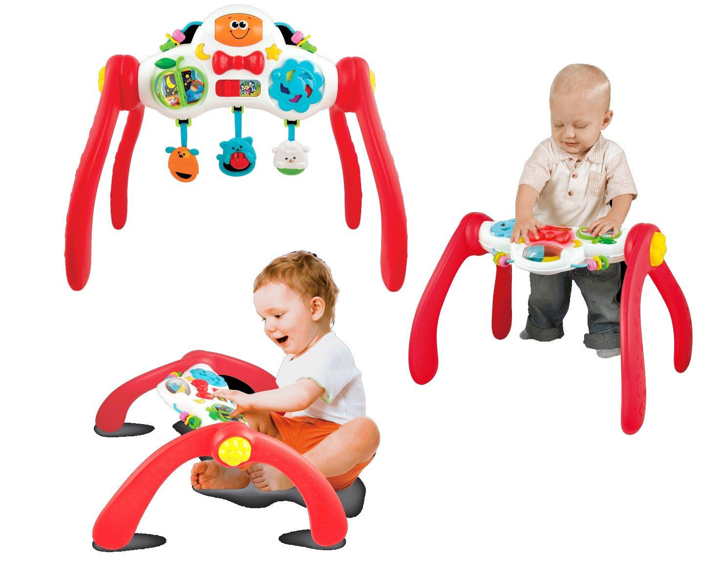 Winfun Baby Trainer Arche de Jeux Activity Center mitwachsend Table d'Apprentissage 3en 1avec son 000822-NL zurücksetzen