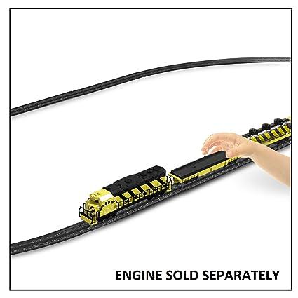 Amazon.com: Pista de tren (potencia trenes ovalado tren ...
